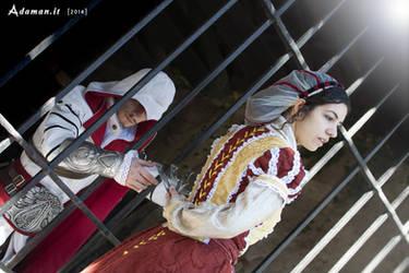 Assassin's Creed Brotherhood: brotherly help by Marivel87