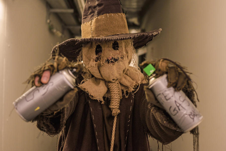 Scarecrow cosplay: the fear gas by Marivel87 on DeviantArt Touch Of Evil