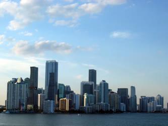 Miami Skyline by Marivel87