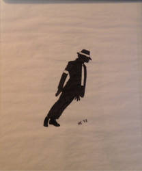 Michael Jackson Silhouette 03 by icemyeyes