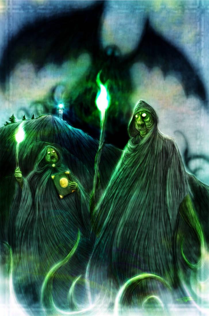 Cthulhu Cultists by WendigoMoon