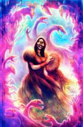 Saskylaana, Mistress of the Taiga by WendigoMoon