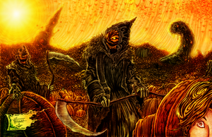 The Reapings (Willisrharrower art trade) by WendigoMoon