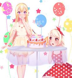 FA | Happy birthday Chisato!!