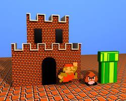 Super Mario Bros by defkoul
