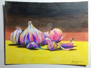 Garlic Still Life