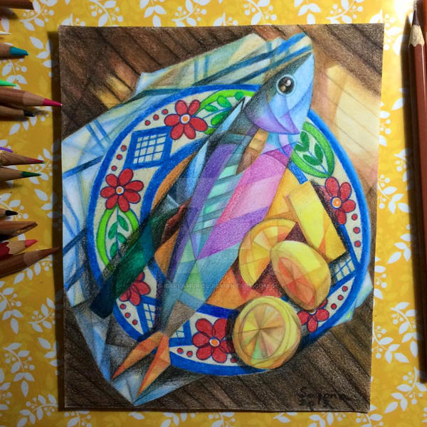 Fish Still Life by karlamuriel