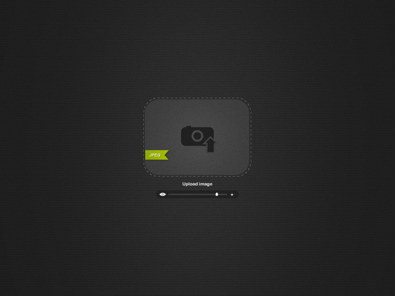 Drop Image Uploader Free PSD by ahmadhania