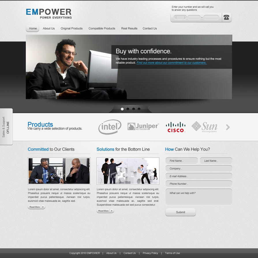 Empower free psd template by ahmadhania on deviantart empower free psd template by ahmadhania wajeb Image collections