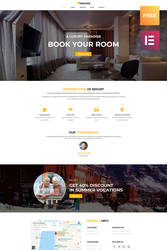 Free Responsive WordPress Theme for Hotel