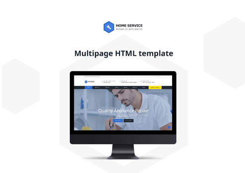 Free HTML5 Cleaning Website Template