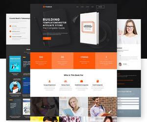 FreeBook - Free One-Page WordPress Theme