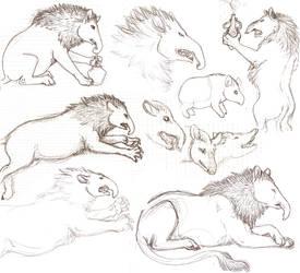 baku sketches