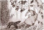 jungle tapirs