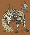 striped hyena coyote