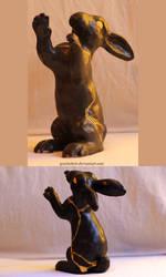 Kintsugi rabbit by gescheitert