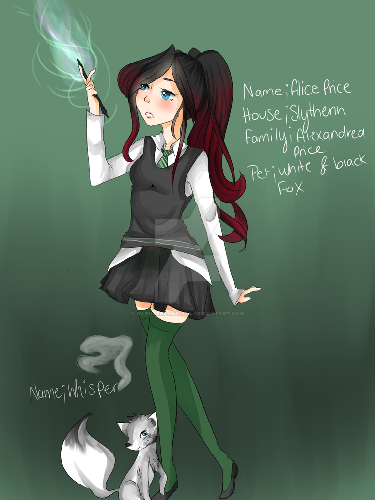 Alice {Harry potter OC} by SilencedAngelica on DeviantArt