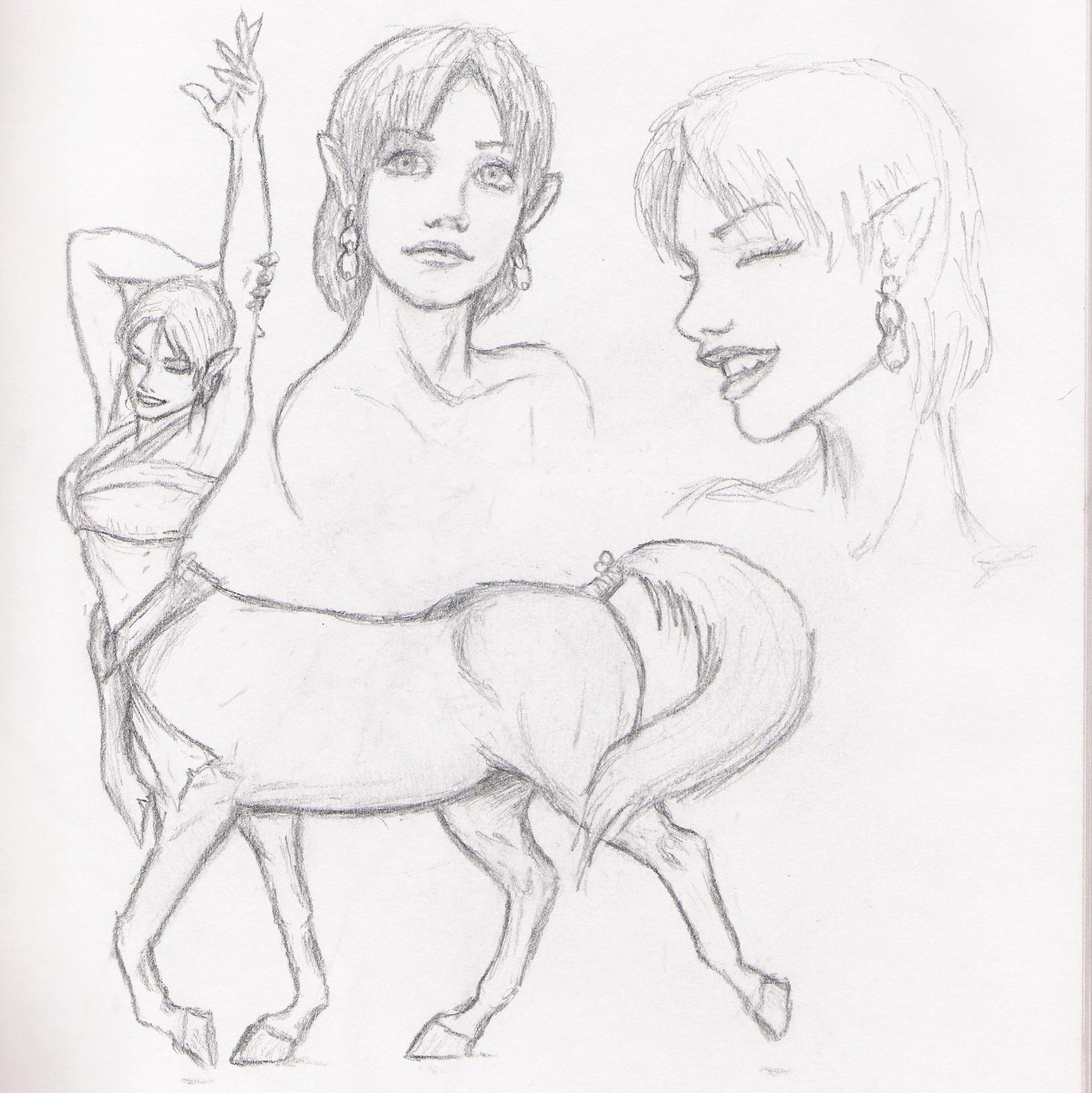 centaur chic by Nobunaga1981