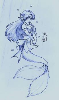 2011 Sketch - Mermaid