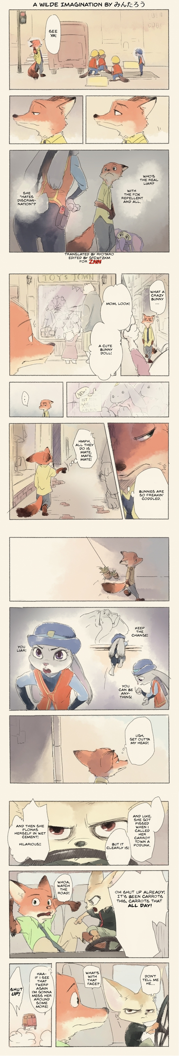 'A Wilde Imagination' by Mintarou (translation) by gfcwfzkm