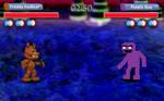 Purple Guy Fight (FNAF World)