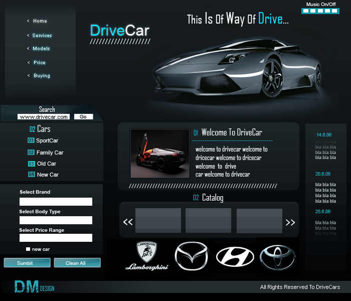 DriveCar by Dm-Design