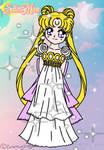 Princess Serenity - Collab by FlyingPrincess