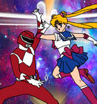 Red Vs. Sailor Moon
