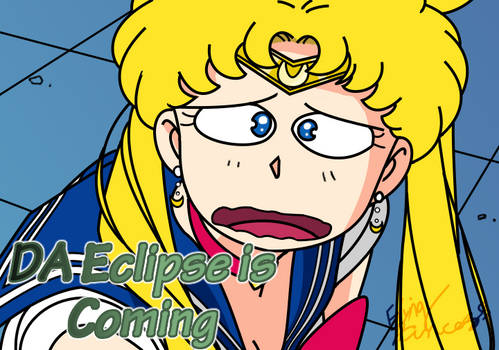 Sailor Moon Redraw Challenge: The Dreaded Eclipse