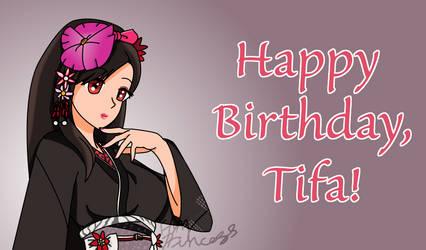 Happy Birthday, Tifa!