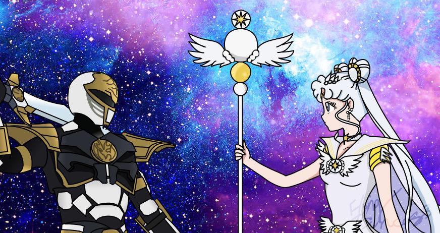 White Tiger Vs. Sailor Cosmos