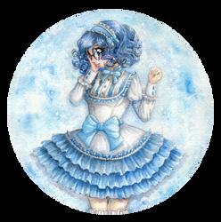 Mercury Cutie pie by lunar-maiden