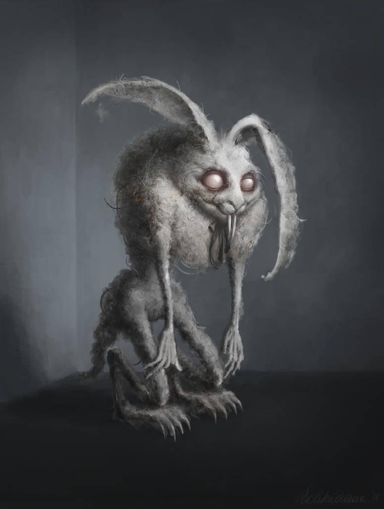 Dust bunny by VioletaJuskova