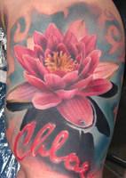 'Lotus Flower' by BloodIronRose