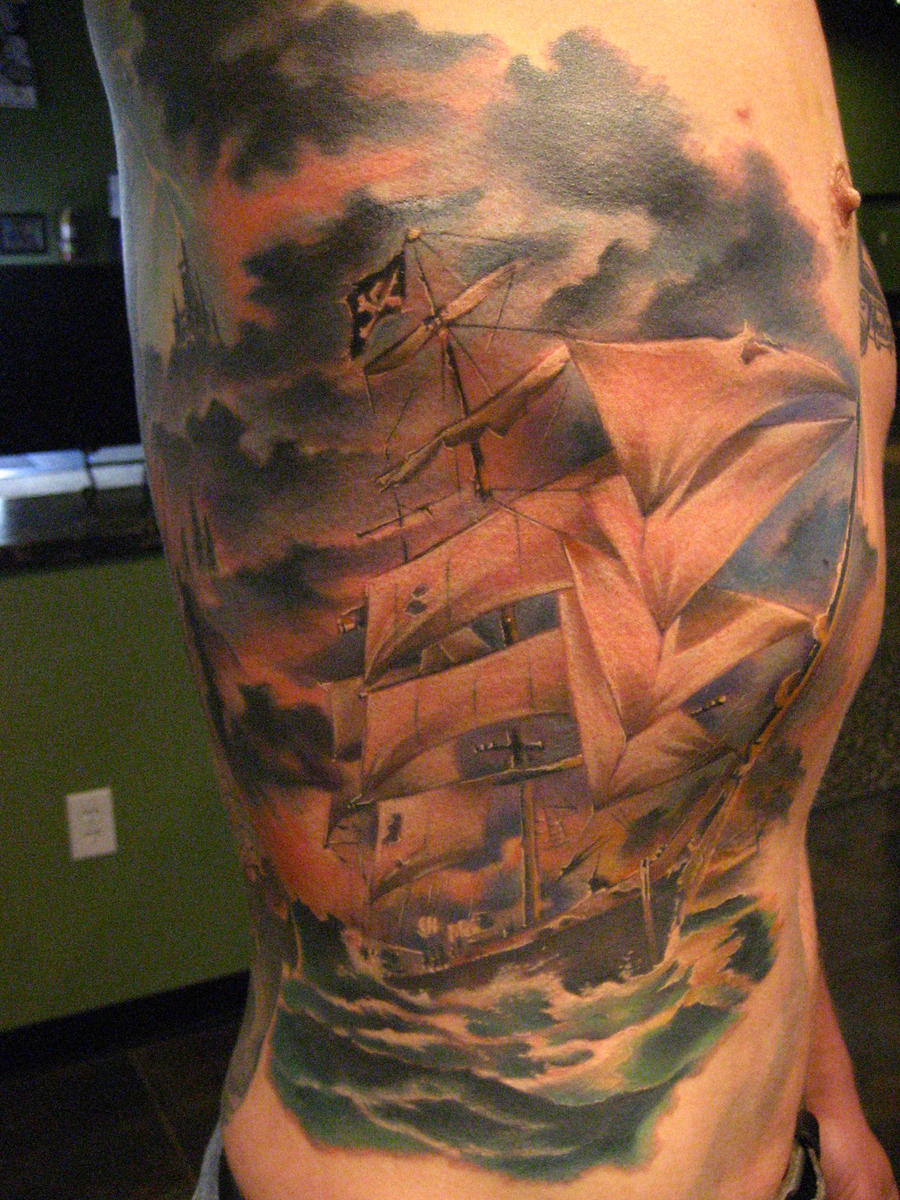 baby dragon year inspiration pirate ships tattoos. Black Bedroom Furniture Sets. Home Design Ideas