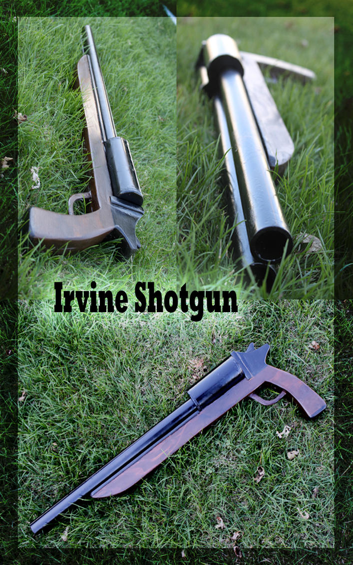 Irvine Shotgun by meanlilkitty