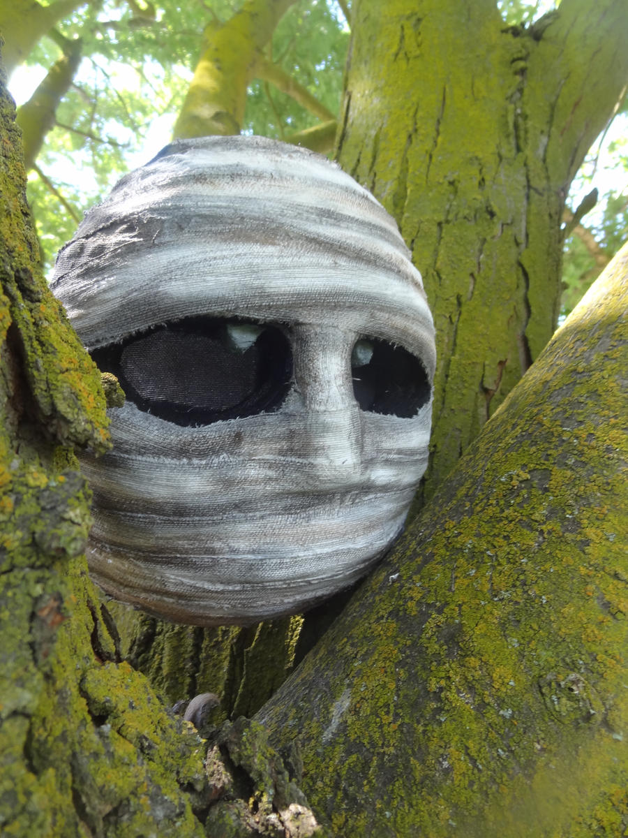 Gibdo Mask by meanlilkitty