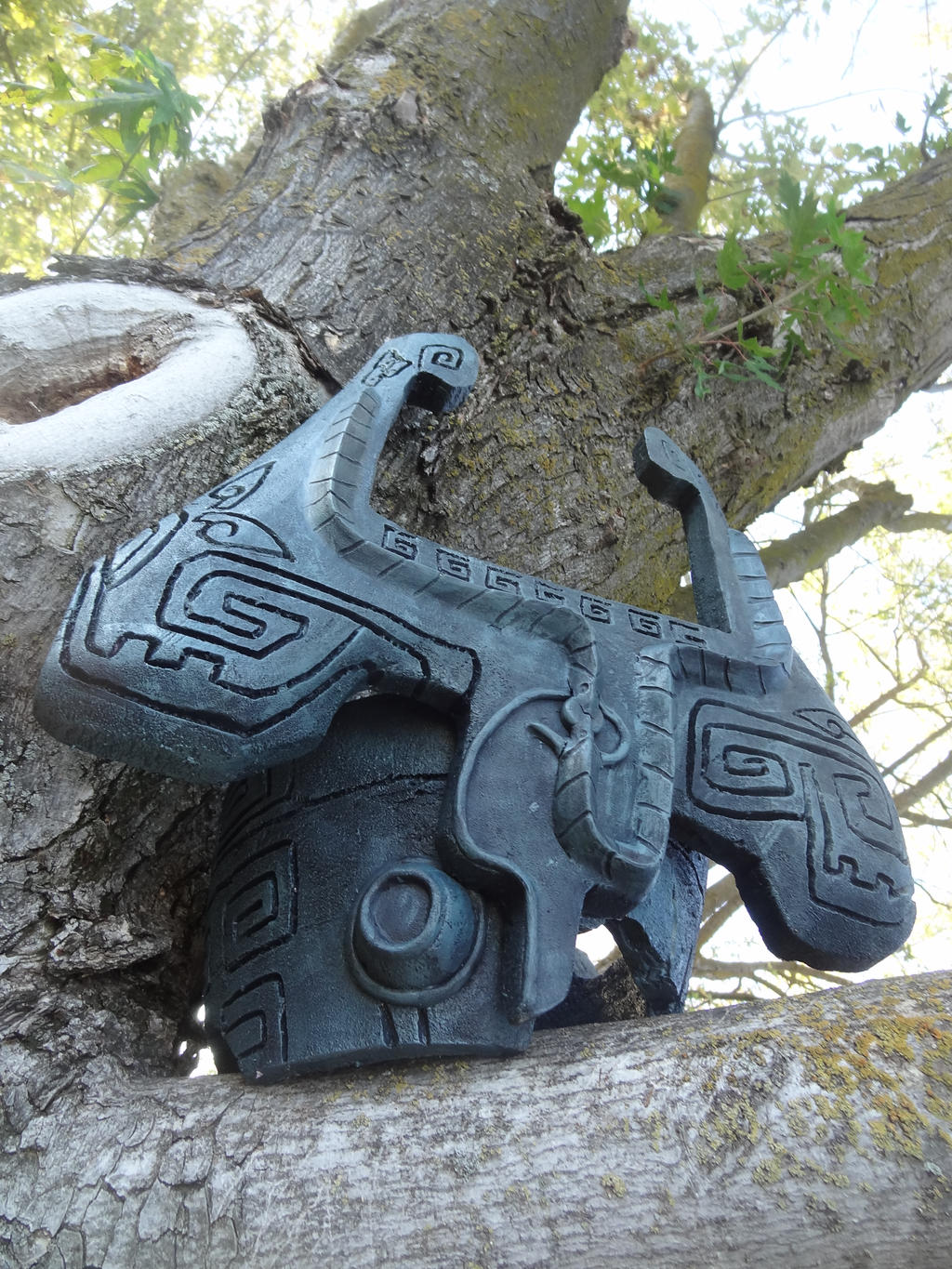 Midna Helmet 2 by meanlilkitty