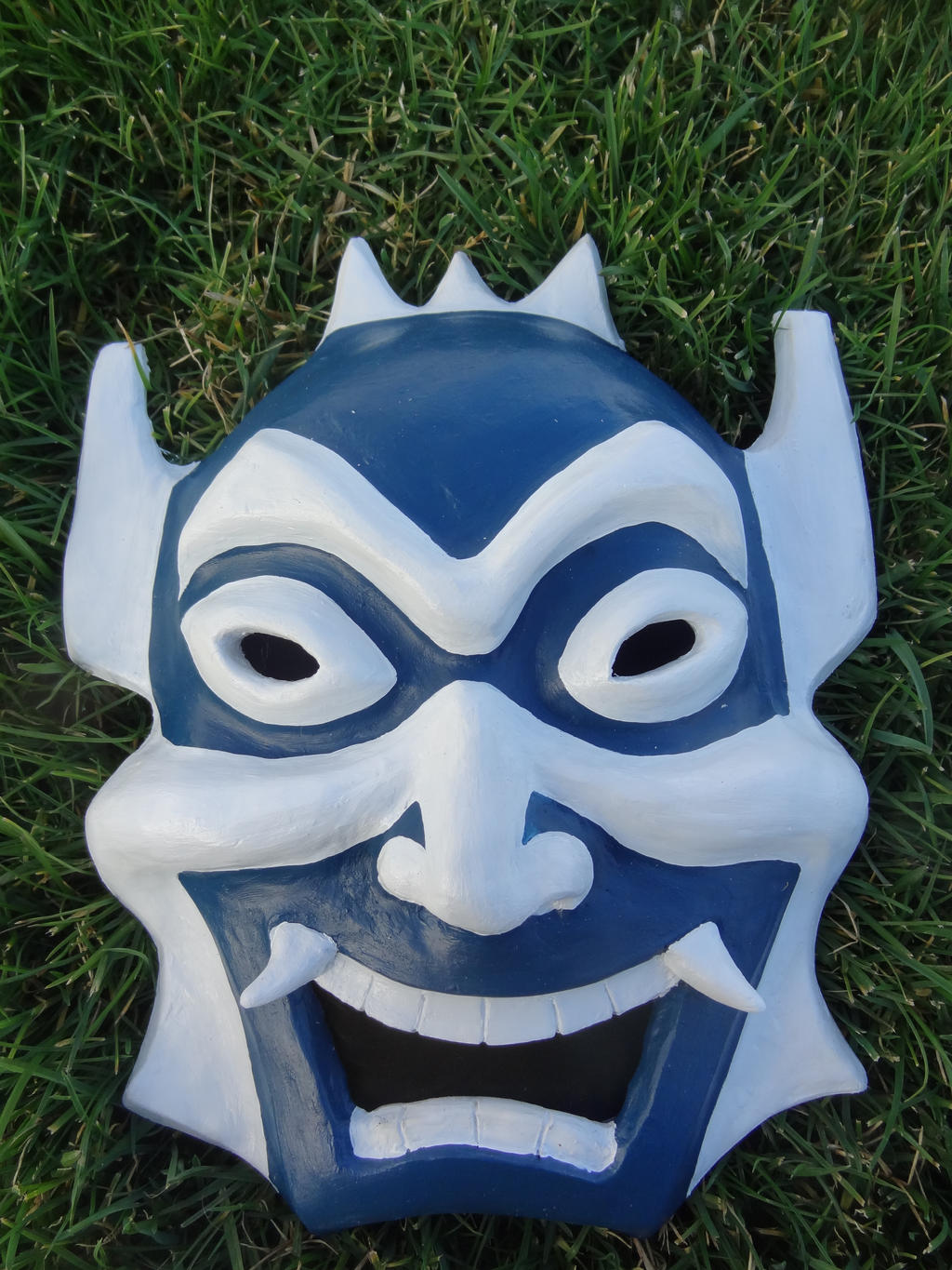 Blue Spirit Mask by meanlilkitty
