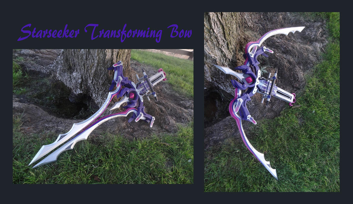 Serah Transforming Bow by meanlilkitty
