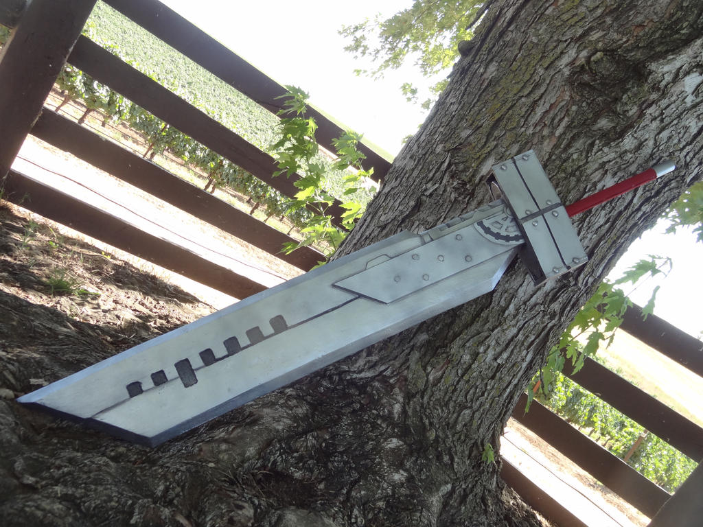 Real Buster Sword Buster Sword Advent Children