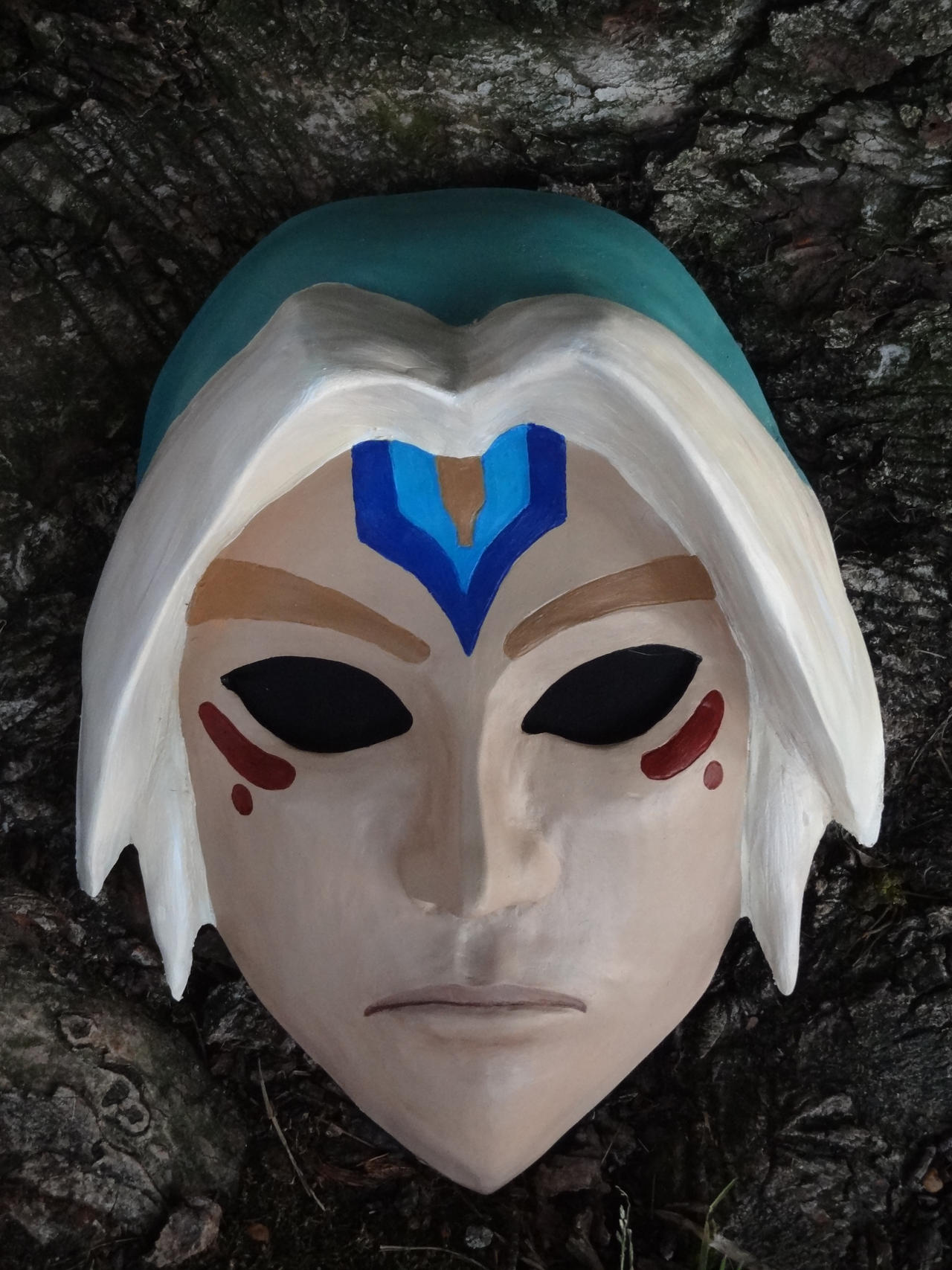Fierce Deity Mask by meanlilkitty