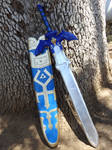 Twilight Princess Master Sword and Scabbard