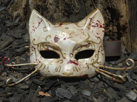 Bioshock Splicer Cat Mask