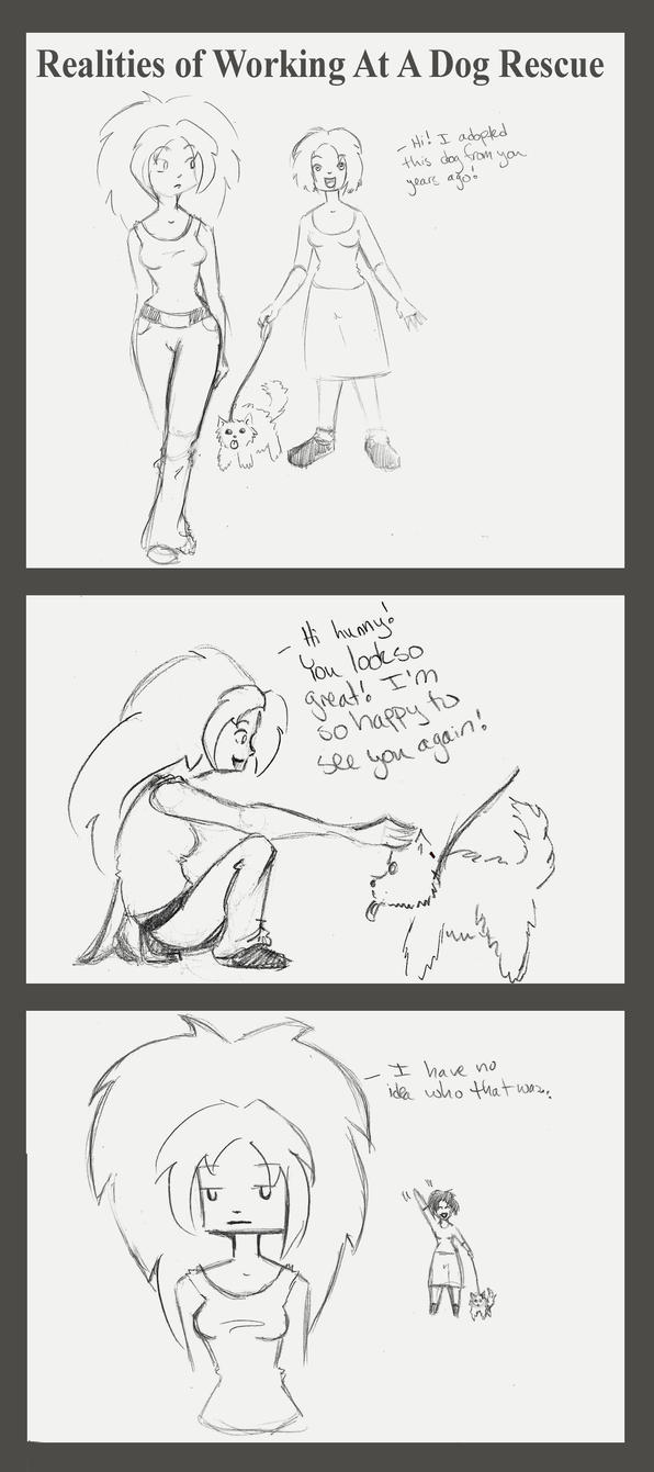 Realities of Working At A Dog Rescue 1 by meanlilkitty