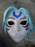 Fierce Deity Mask 3DS Version by meanlilkitty