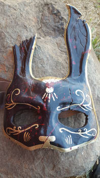 Black Bioshock Splicer Mask