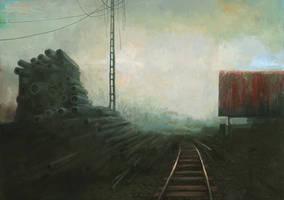 Postcard from the Zone II by lukpazera