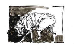 Dog of Zone Sketch by lukpazera