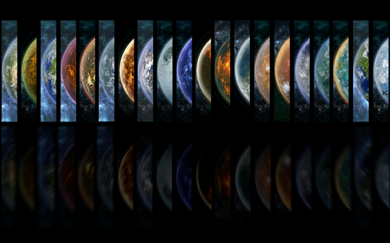 Majestic Planets of SWTOR